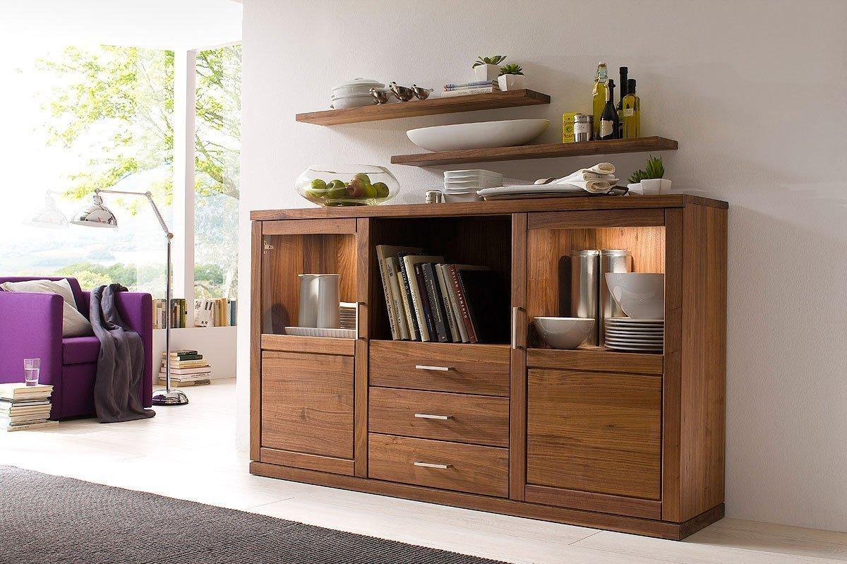 sideboard kombination bianca nussbaum von dudinger m bel letz ihr online shop. Black Bedroom Furniture Sets. Home Design Ideas