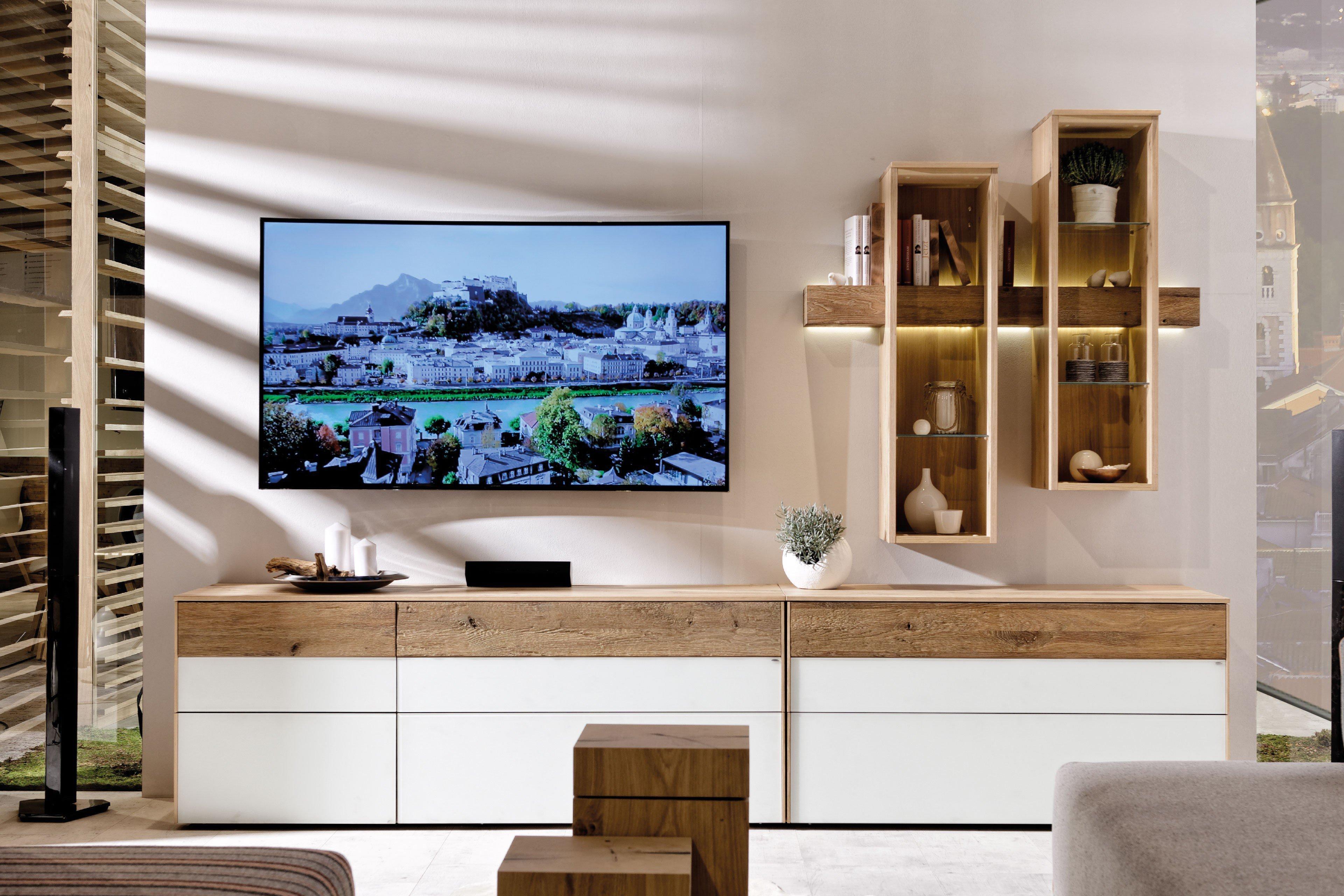 voglauer wohnwand v solid 269 wildeiche eiche m bel letz ihr online shop. Black Bedroom Furniture Sets. Home Design Ideas
