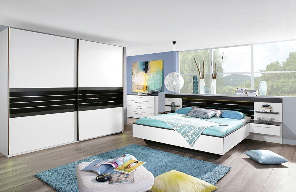 rauch coleen schlafzimmer wei graphit m bel letz ihr online shop. Black Bedroom Furniture Sets. Home Design Ideas