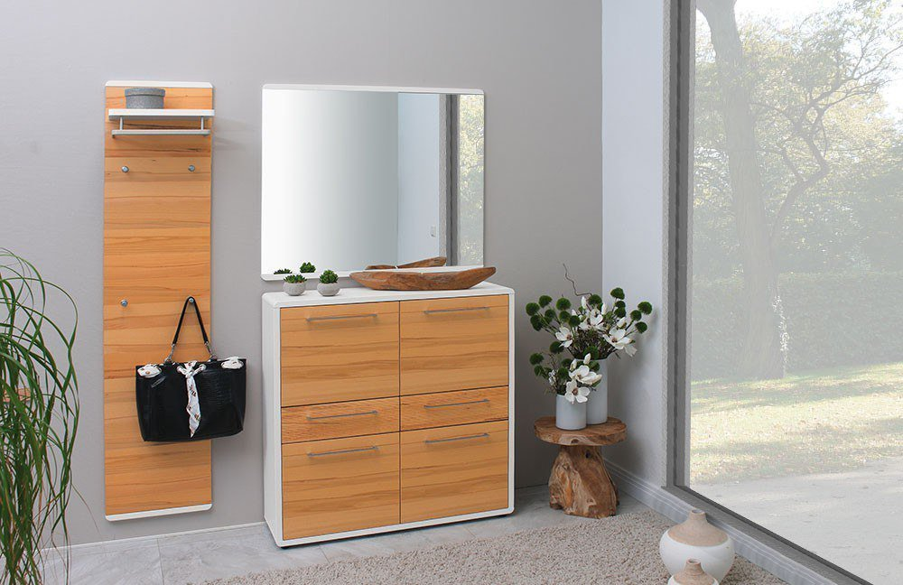 garderobe riva wei und kernbuche von voss m bel m bel letz ihr online shop. Black Bedroom Furniture Sets. Home Design Ideas