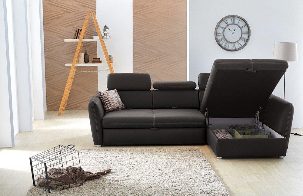 jockenh fer arona ecksofa in braun m bel letz ihr online shop. Black Bedroom Furniture Sets. Home Design Ideas