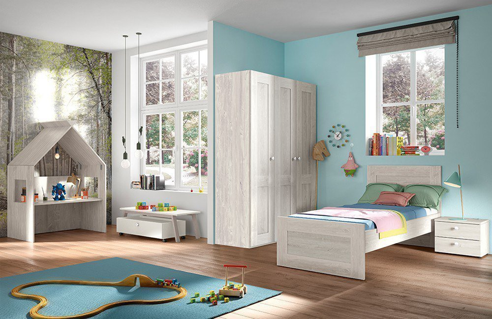 r hr bush cottage kinderzimmer nordic pine m bel letz ihr online shop. Black Bedroom Furniture Sets. Home Design Ideas