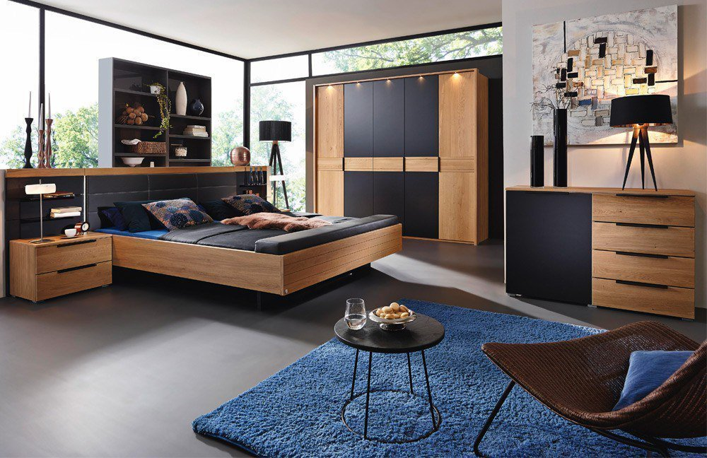 wildeiche m bel schlafzimmer interessante. Black Bedroom Furniture Sets. Home Design Ideas