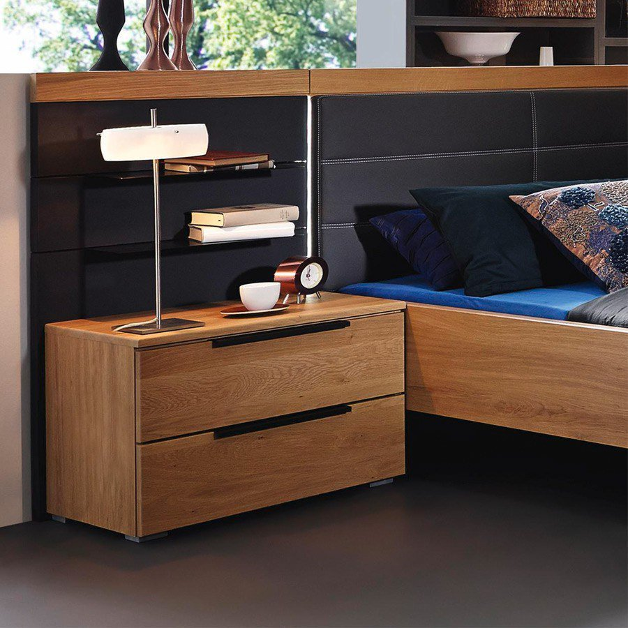 rauch varberg set wildeiche schwarz m bel letz ihr. Black Bedroom Furniture Sets. Home Design Ideas