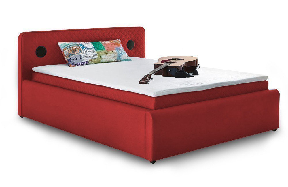 jockenh fer boxspringbett sardinien in rot m bel letz ihr online shop. Black Bedroom Furniture Sets. Home Design Ideas