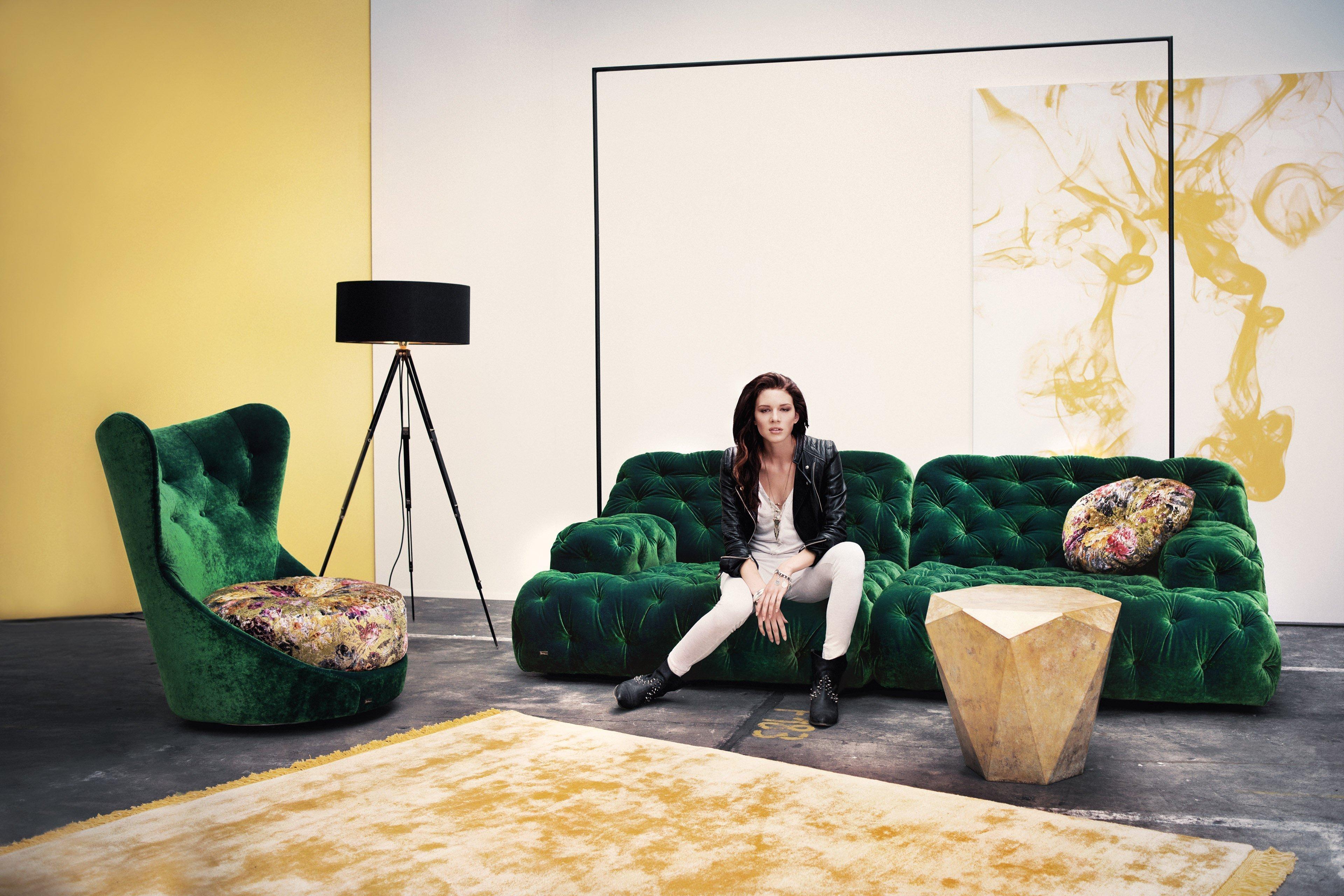 bretz cocoa island sofa in gr n m bel letz ihr online shop. Black Bedroom Furniture Sets. Home Design Ideas