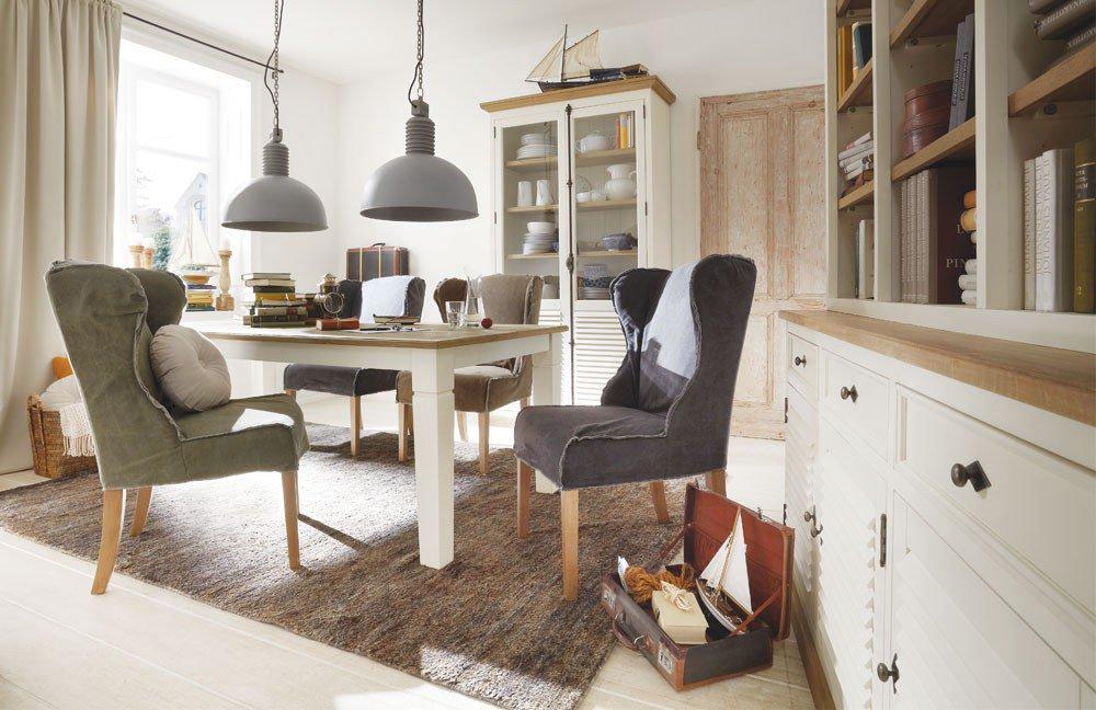 esstisch new orleans pinie wildeiche von wohn gl ck lich m bel letz ihr online shop. Black Bedroom Furniture Sets. Home Design Ideas