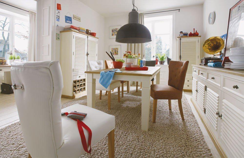 esszimmer new orleans mit esstisch und st hle von ldr m bel letz ihr online shop. Black Bedroom Furniture Sets. Home Design Ideas