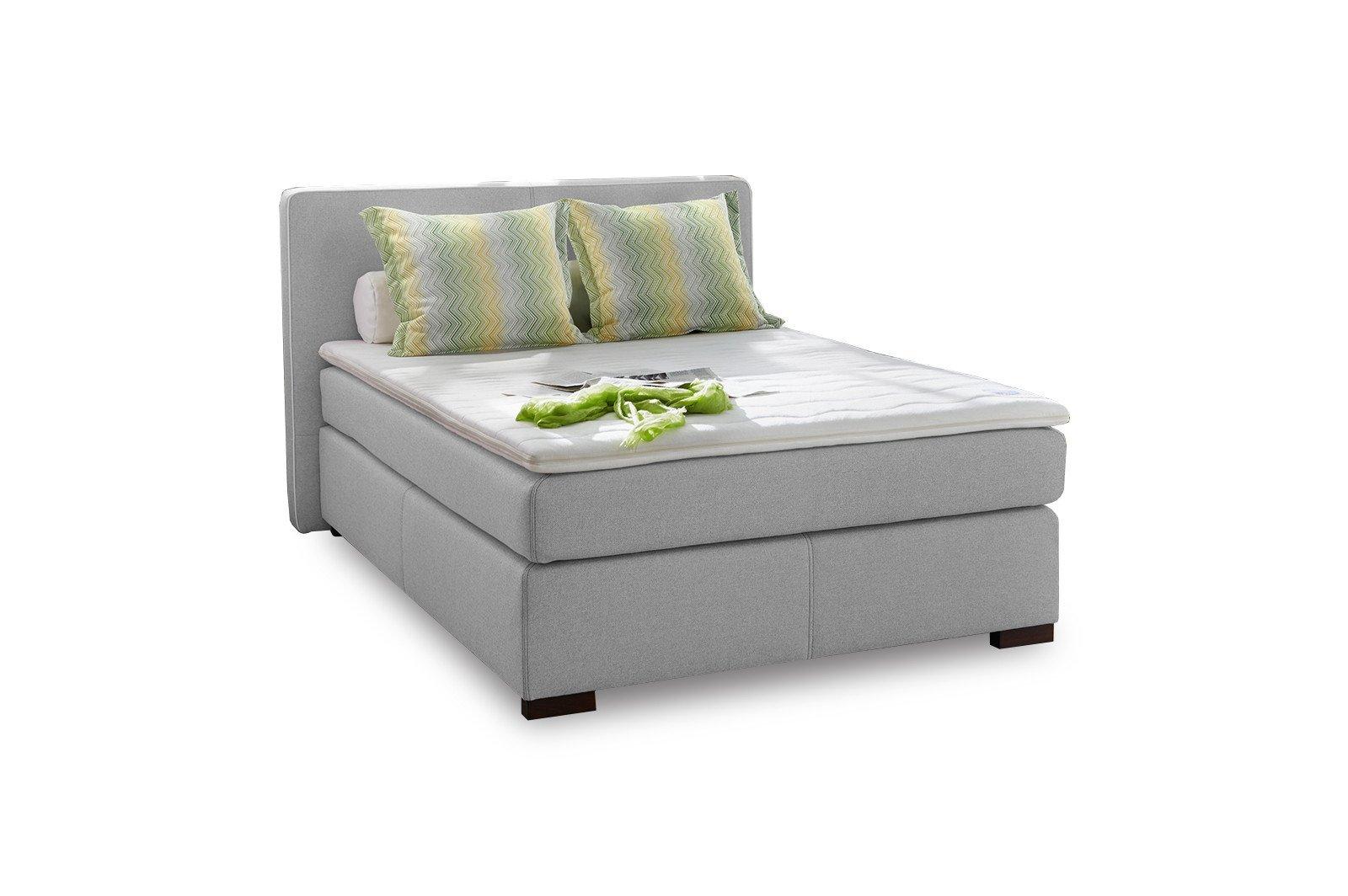 jockenh fer boxspringbett isabel in grau m bel letz. Black Bedroom Furniture Sets. Home Design Ideas