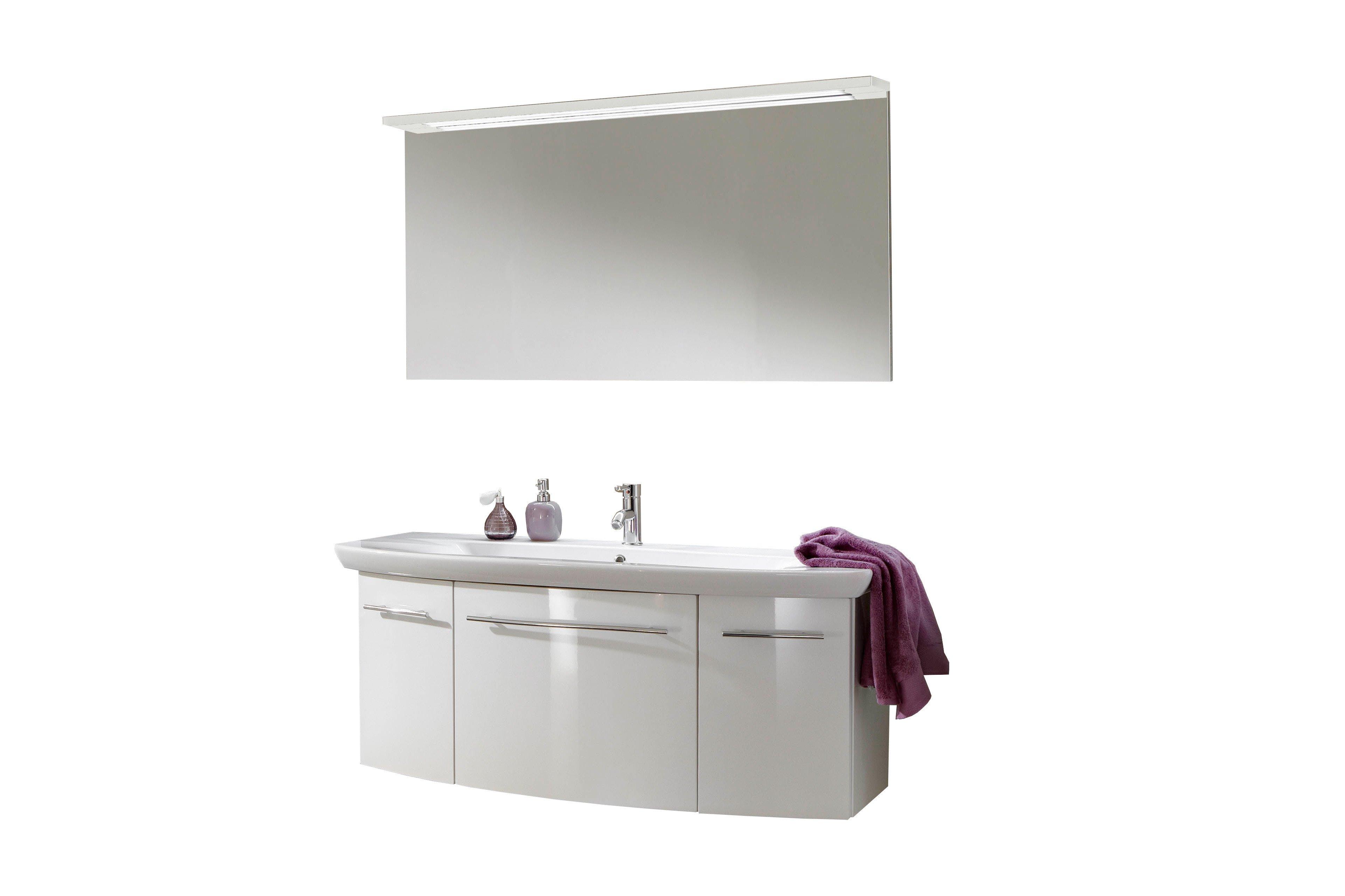 Marlin Badezimmer 20 Weiß 20 teilig   Möbel Letz   Ihr Online Shop