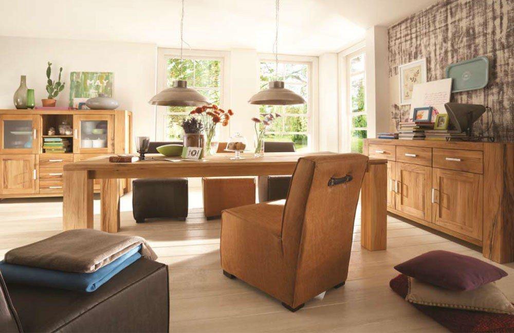 m bel wildeiche esszimmer interessante. Black Bedroom Furniture Sets. Home Design Ideas