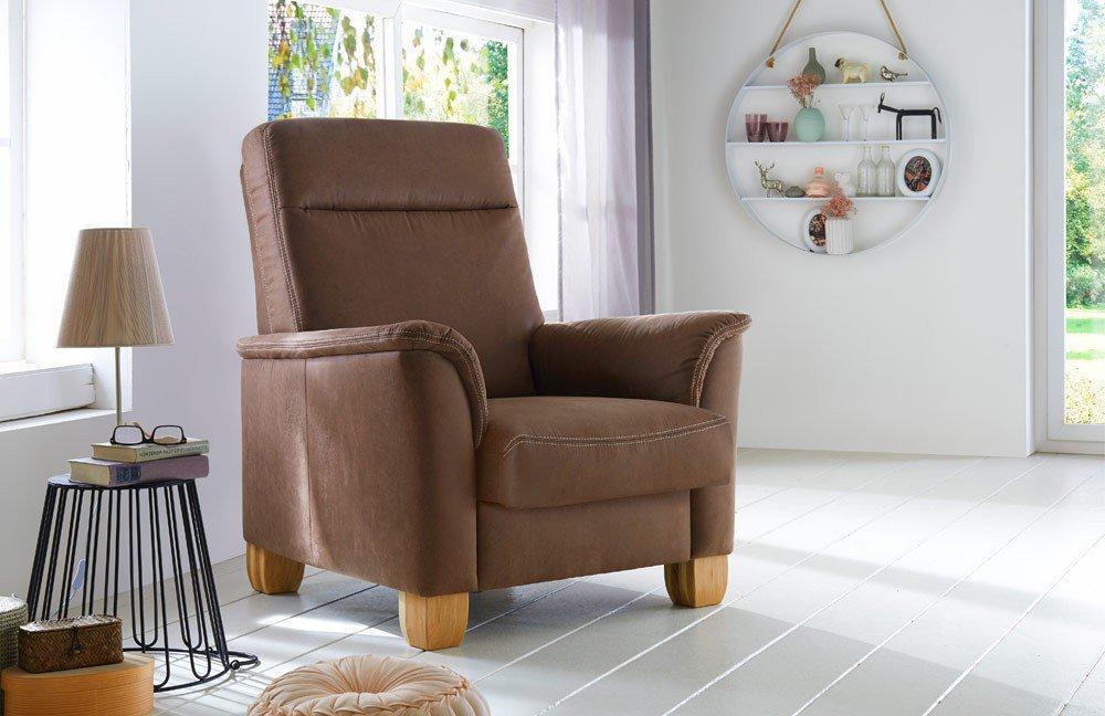 Einzelsessel braun  Polipol Landart Einzelsessel braun   Möbel Letz - Ihr Online-Shop