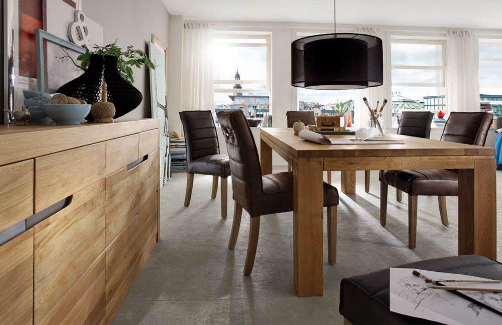 esszimmer pigro wildeiche natur von ldr m bel letz ihr online shop. Black Bedroom Furniture Sets. Home Design Ideas