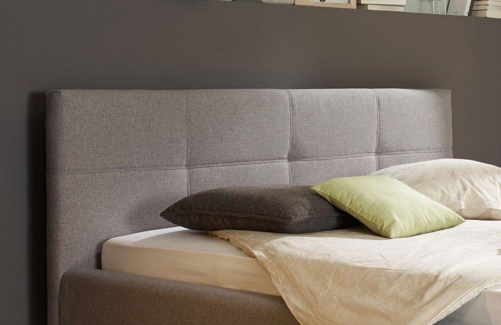 in domo Modell ID. 550 Style A Polsterbett grau | Möbel Letz - Ihr ...