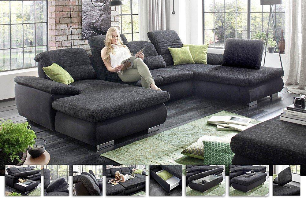 delphi polstergarnitur von megapol m bel letz ihr online shop. Black Bedroom Furniture Sets. Home Design Ideas