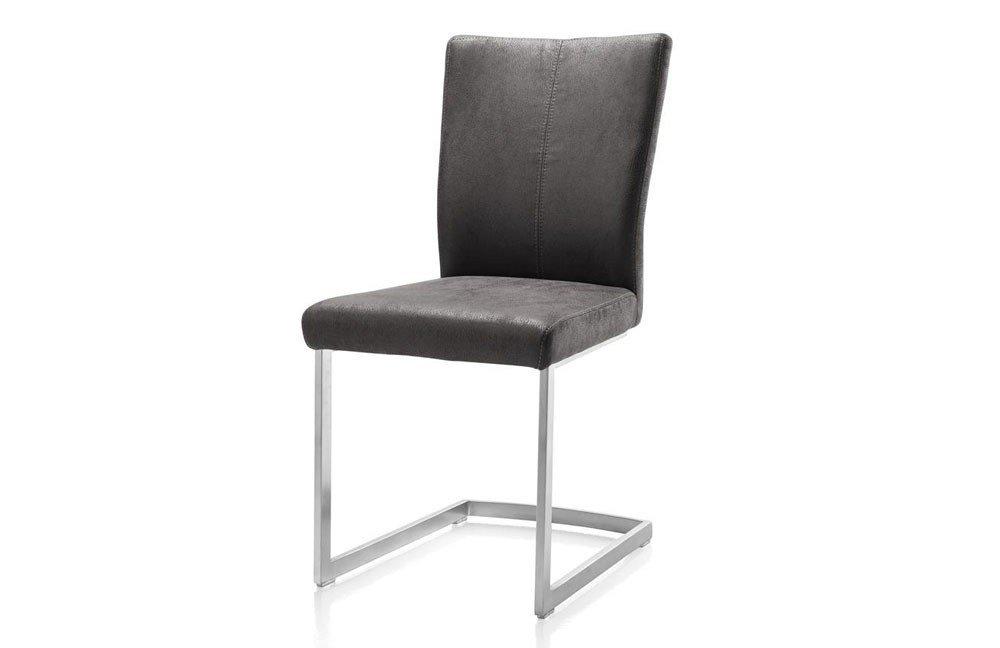 freischwinger lenneke antracite von habufa m bel letz ihr online shop. Black Bedroom Furniture Sets. Home Design Ideas