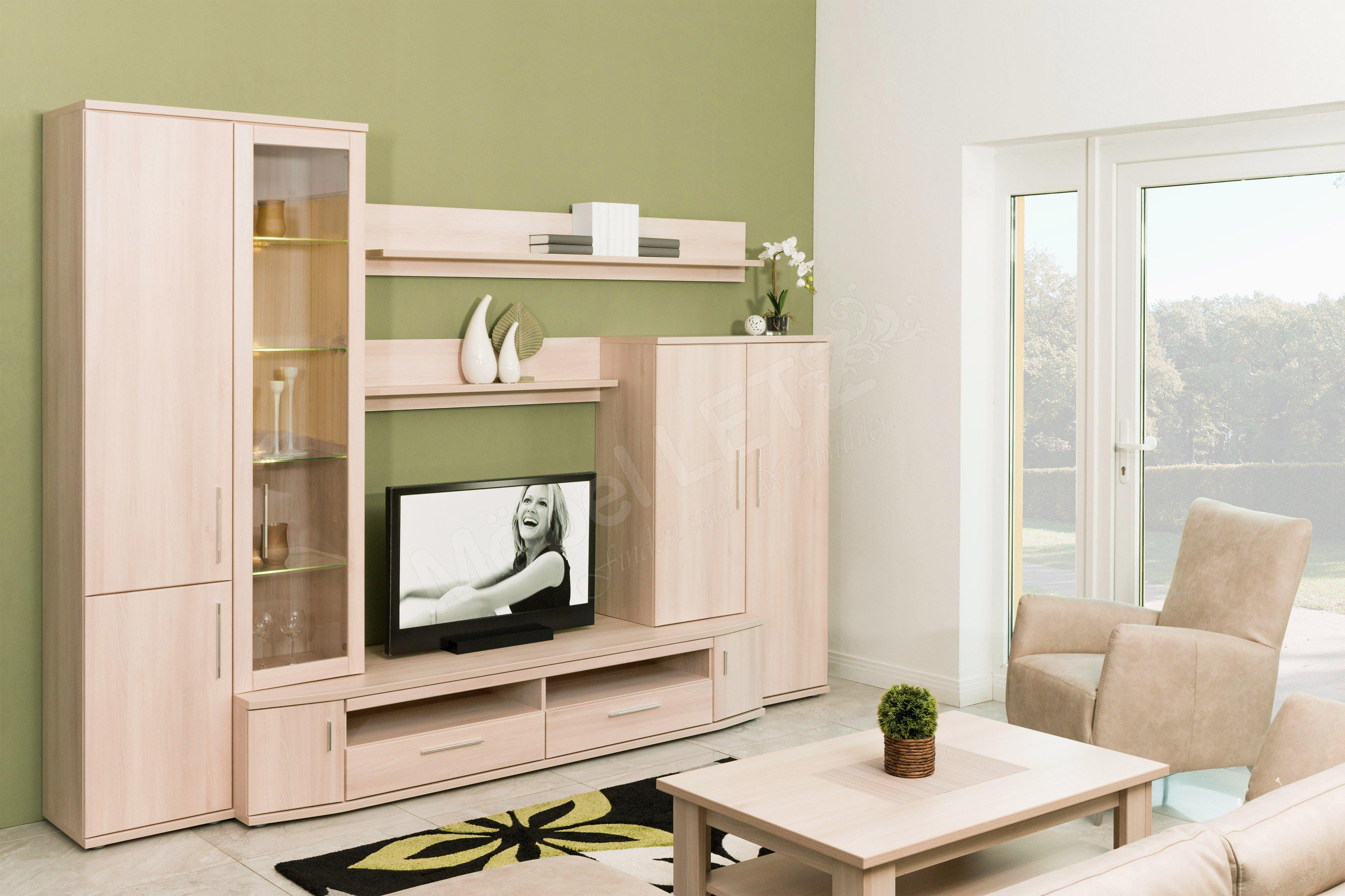 Stralsunder Möbelwerke Wohnwand Wiek EB205 | Möbel Letz - Ihr Online ...