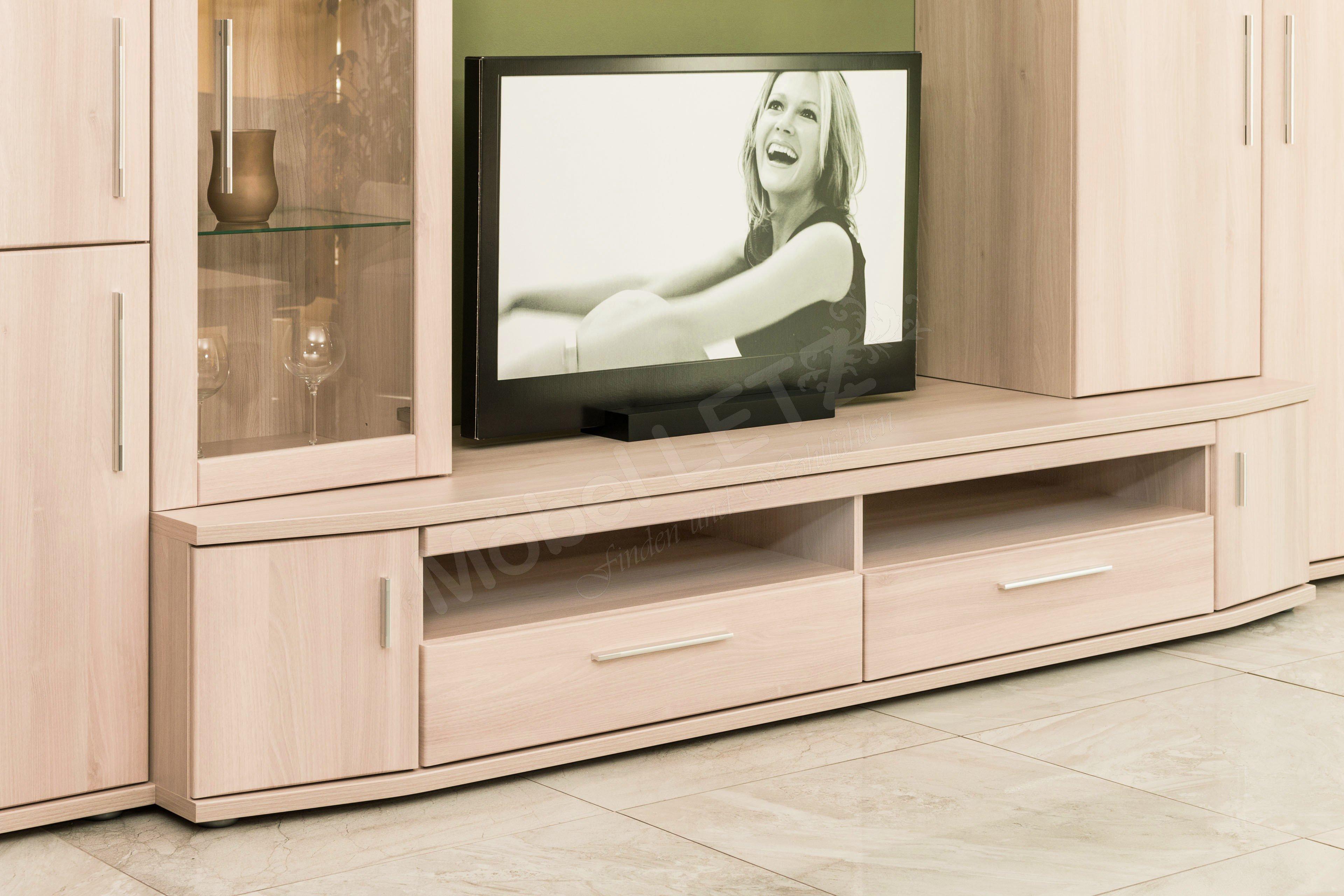 stralsunder m belwerke wohnwand wiek eb205 m bel letz ihr online shop. Black Bedroom Furniture Sets. Home Design Ideas
