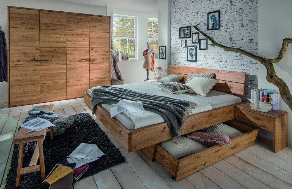 m h system f massivholz schlafzimmer m bel letz ihr online shop. Black Bedroom Furniture Sets. Home Design Ideas