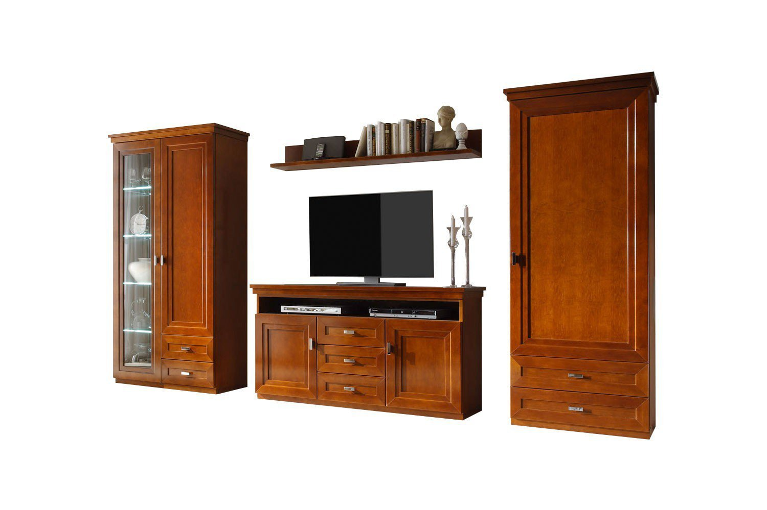 wehrsdorfer wohnwand kent ph 666 cognac antik m bel letz ihr online shop. Black Bedroom Furniture Sets. Home Design Ideas