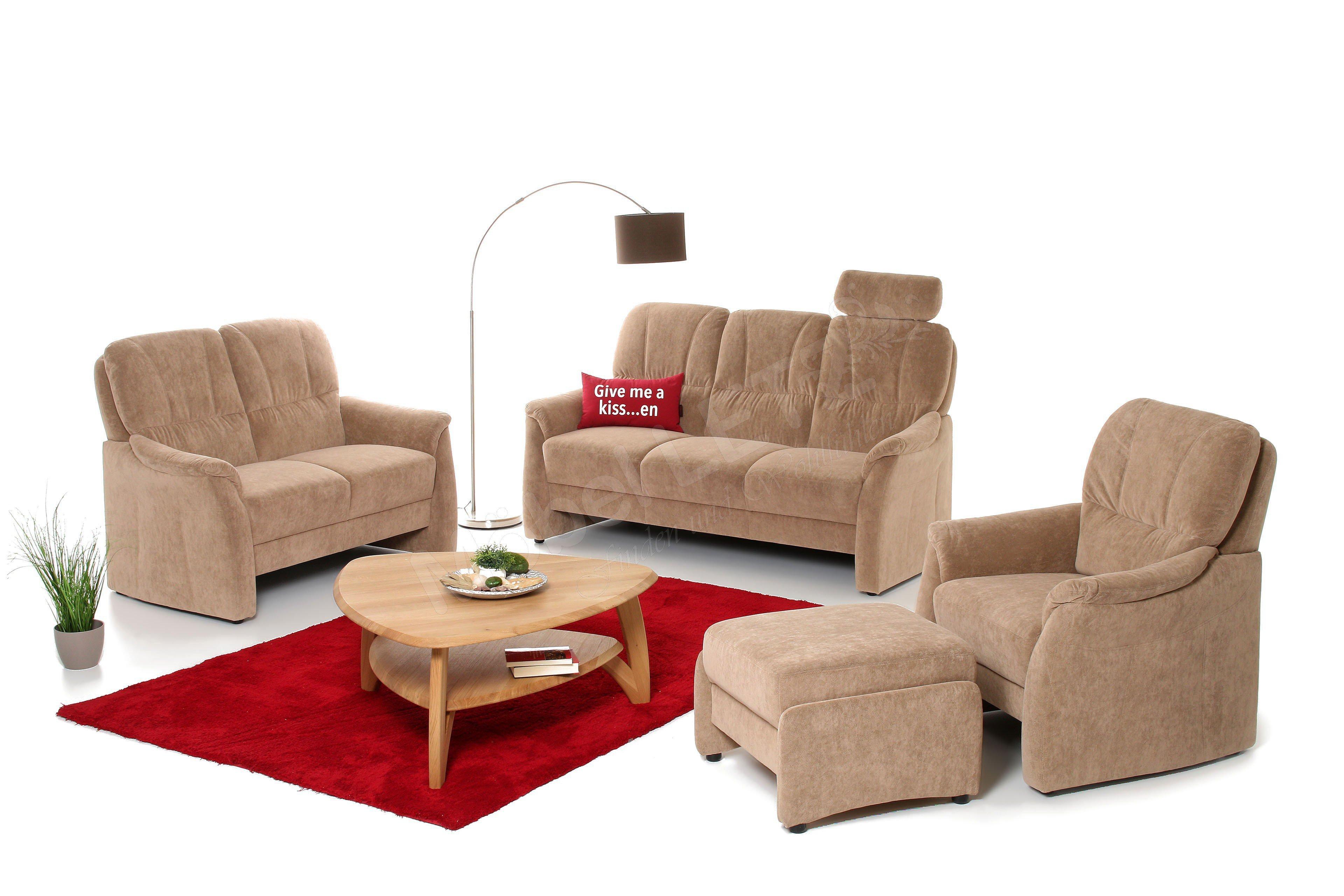 arco aalen 1000 polstergarnitur beige m bel letz ihr. Black Bedroom Furniture Sets. Home Design Ideas