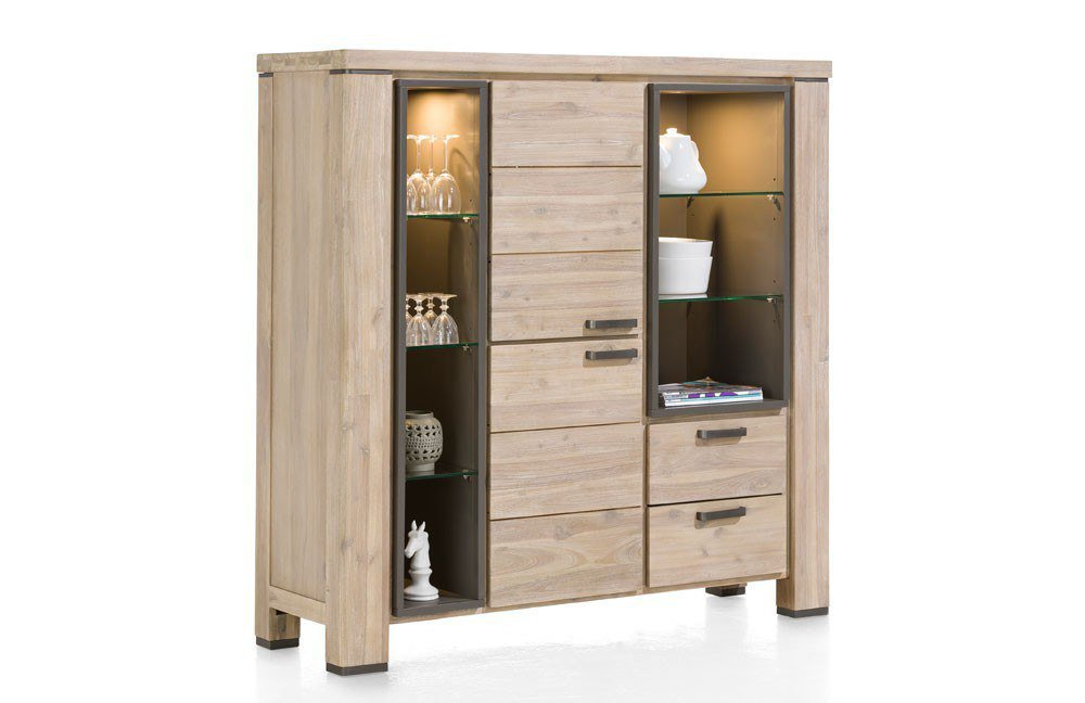 highboard coiba akazie von habufa m bel letz ihr online shop. Black Bedroom Furniture Sets. Home Design Ideas