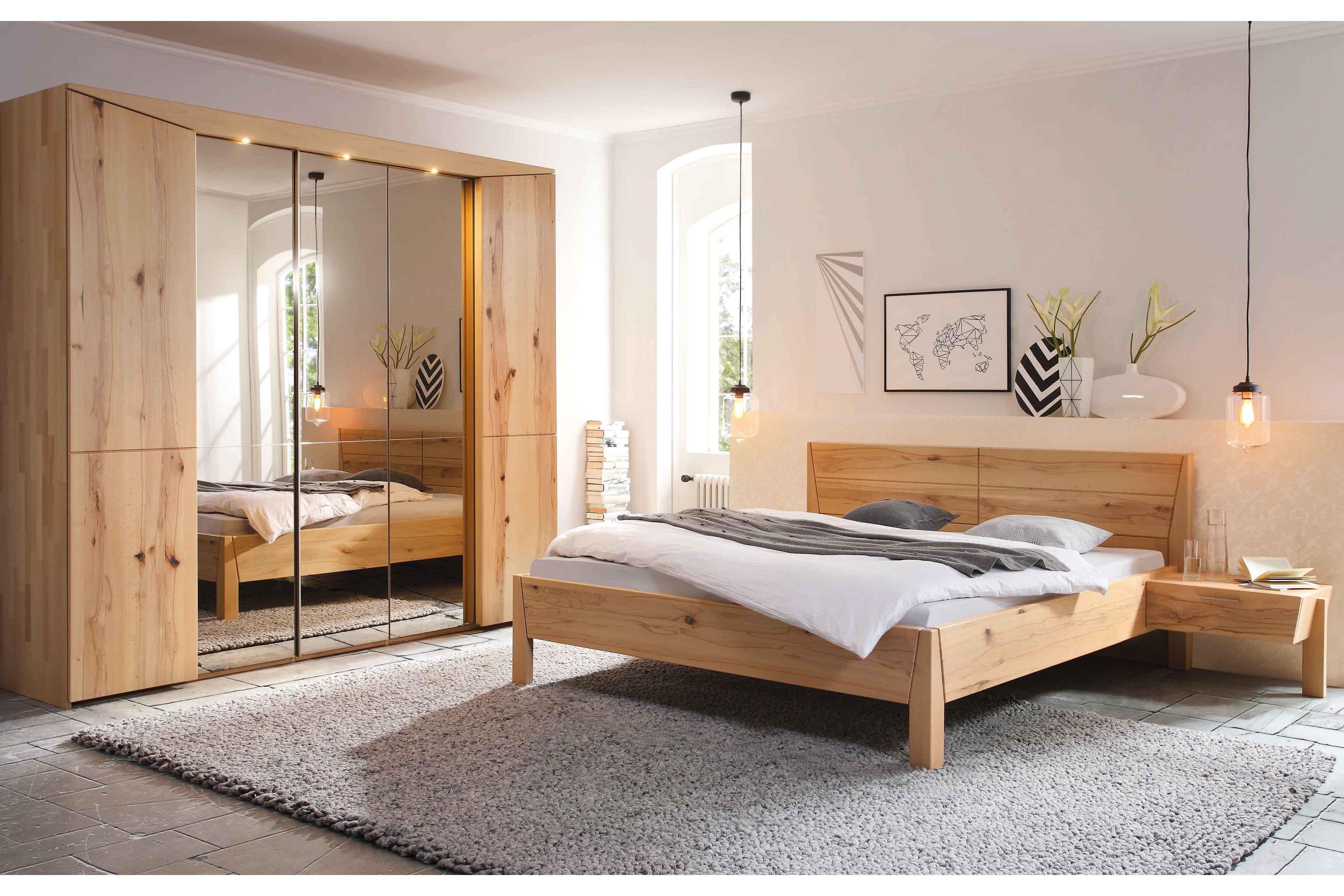 Pura Von Thielemeyer   Schlafzimmer Massivholz Naturbuche