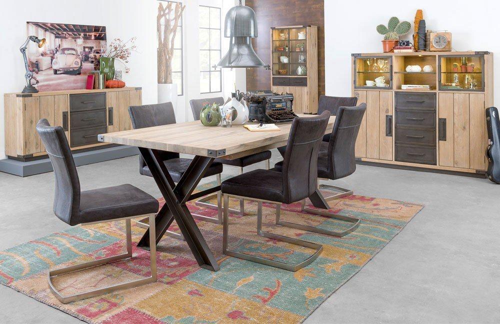 habufa esszimmer station eiche cigar white m bel letz ihr online shop. Black Bedroom Furniture Sets. Home Design Ideas