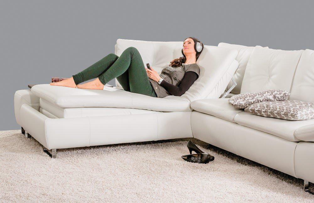 pm oelsa avus eckgarnitur longlife soft wei m bel letz ihr online shop. Black Bedroom Furniture Sets. Home Design Ideas