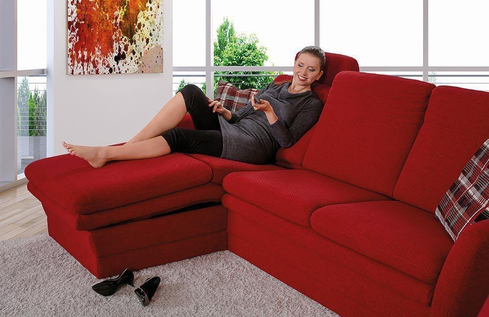 pm oelsa bastei eckgarnitur in rot m bel letz ihr online shop. Black Bedroom Furniture Sets. Home Design Ideas