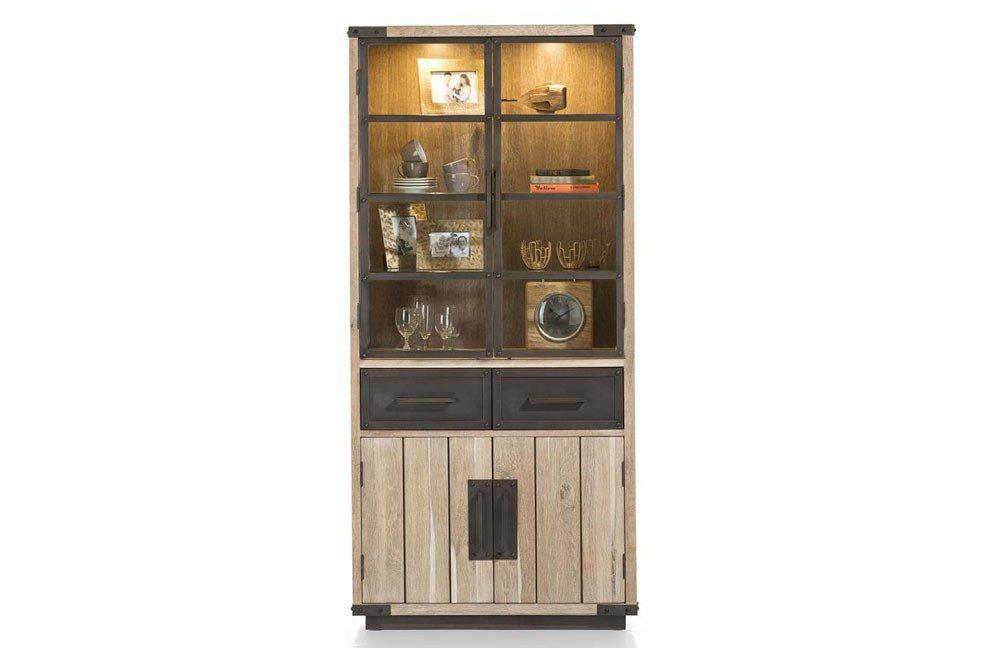 vitrine station 30376 von habufa m bel letz ihr online shop. Black Bedroom Furniture Sets. Home Design Ideas