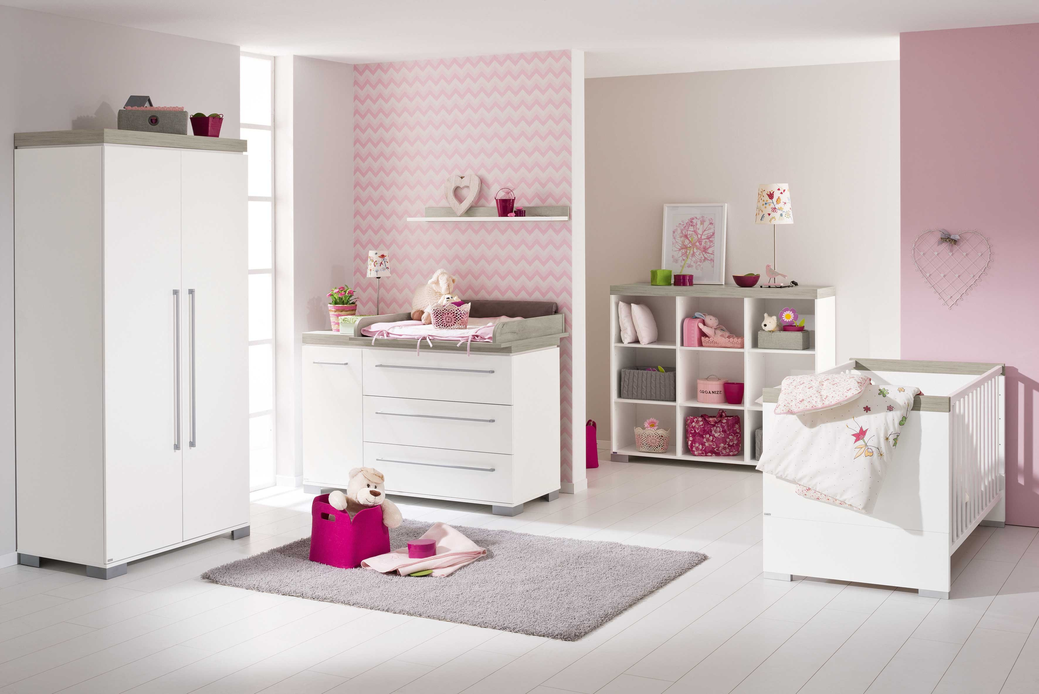 paidi babyzimmer kira kreidewei eiche nautik m bel letz ihr online shop. Black Bedroom Furniture Sets. Home Design Ideas