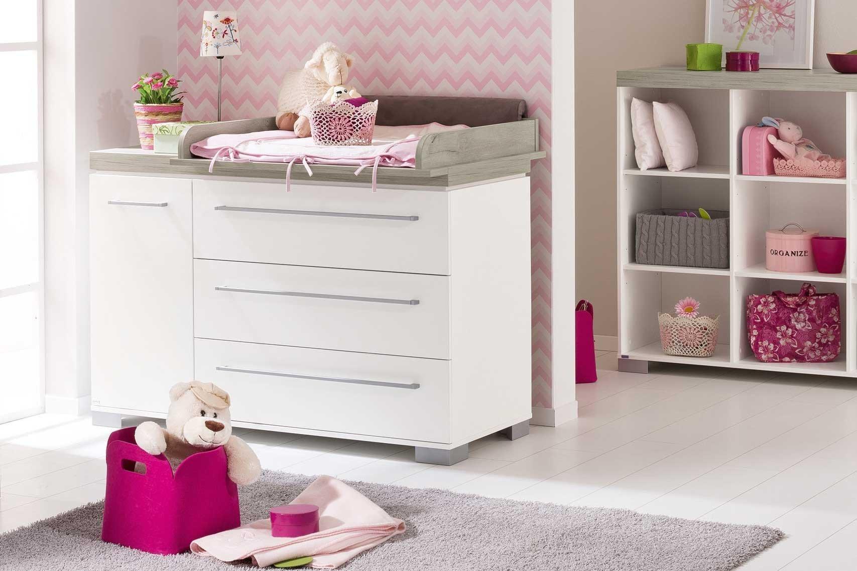 paidi babyzimmer kira kreidewei eiche nautik m bel letz ihr online shop. Black Bedroom Furniture Sets. Home Design Ideas