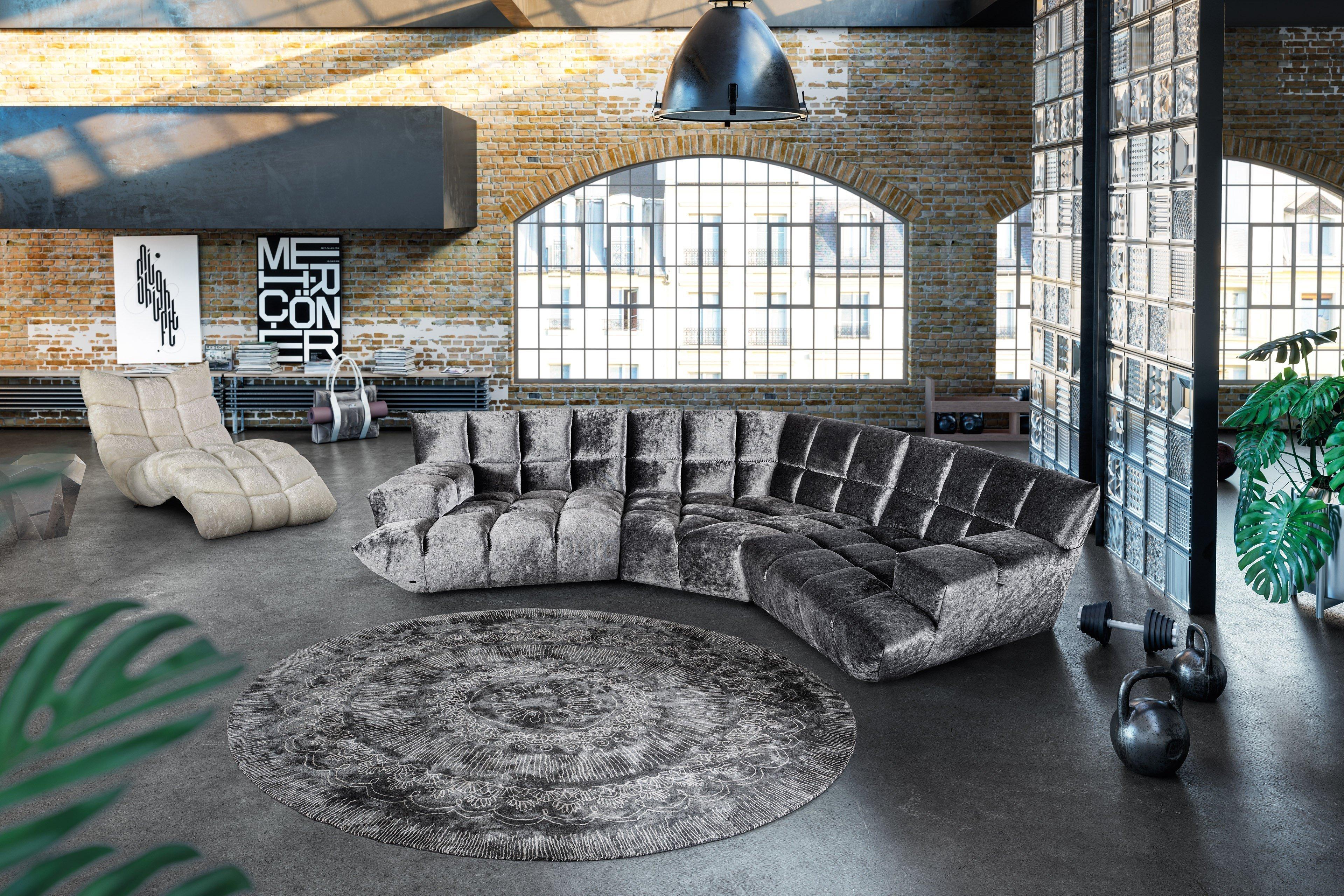 bretz cloud 7 polstergarnitur silber m bel letz ihr. Black Bedroom Furniture Sets. Home Design Ideas