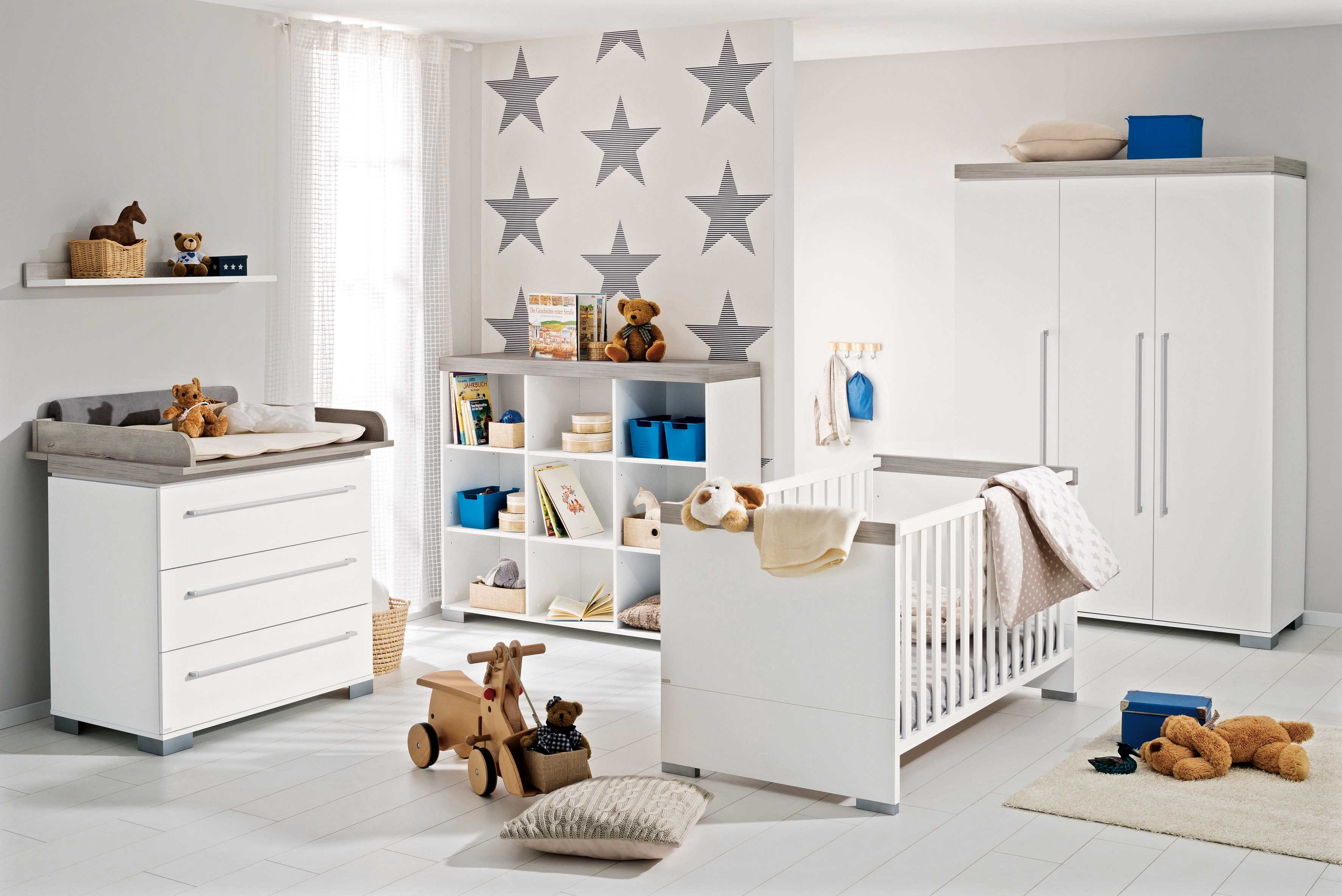 paidi babyzimmer kira wei eiche m bel letz ihr online shop. Black Bedroom Furniture Sets. Home Design Ideas