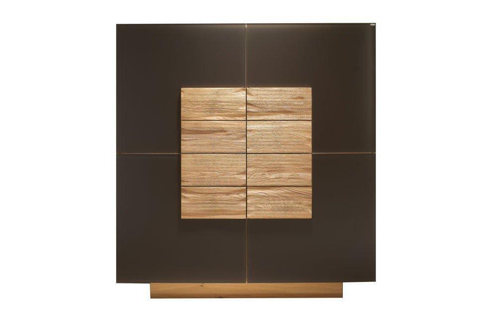 voglauer highboard v montana 128 grandbrown wildeiche m bel letz ihr online shop. Black Bedroom Furniture Sets. Home Design Ideas
