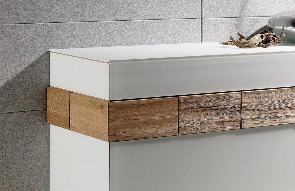 voglauer sideboard v montana hoch 160 wildeiche optiwhite. Black Bedroom Furniture Sets. Home Design Ideas