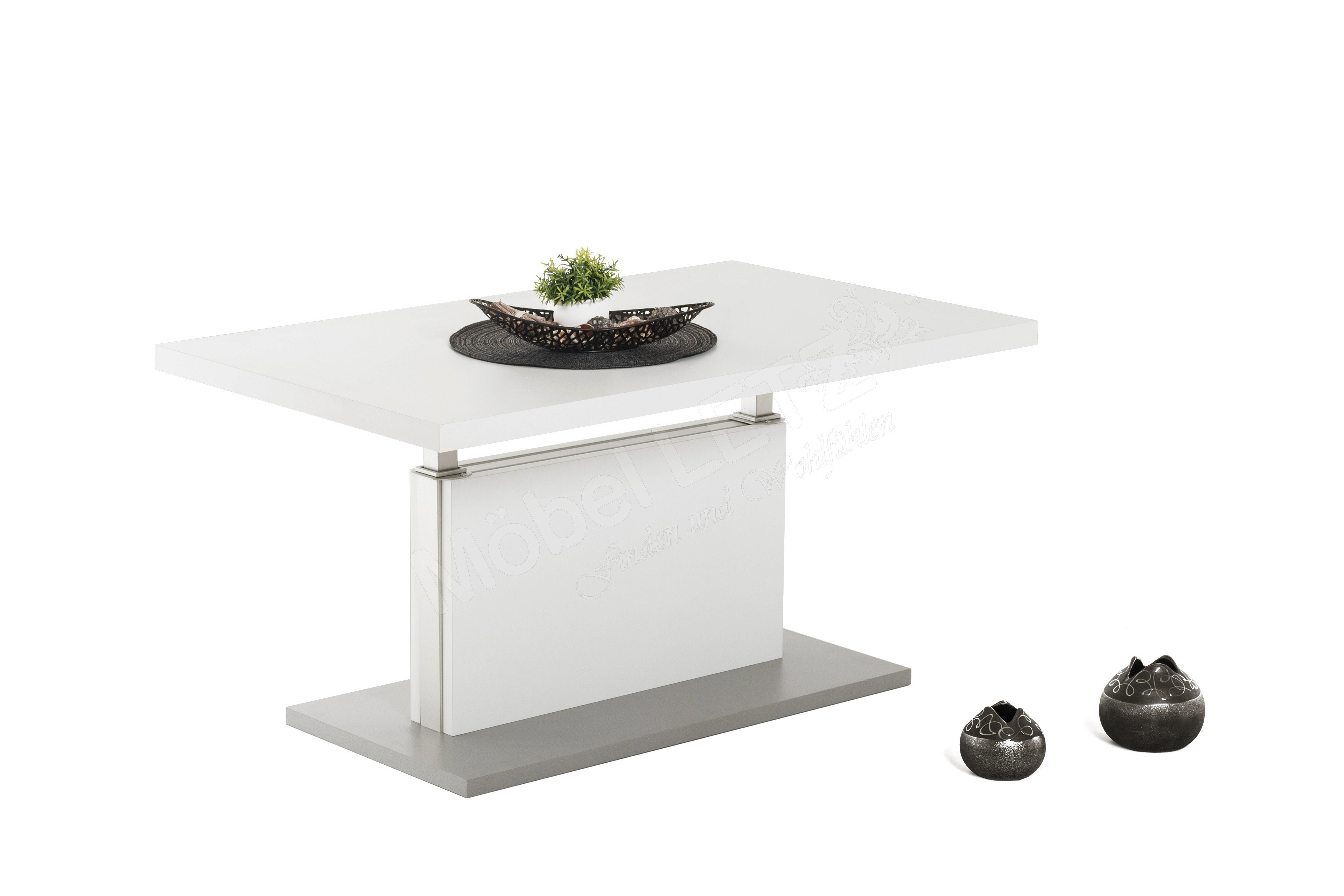 vierhaus couchtisch v 7323 wss in wei m bel letz ihr. Black Bedroom Furniture Sets. Home Design Ideas