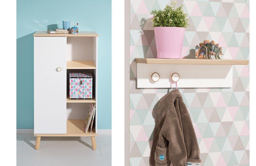 ylvie von paidi spielbett und schrank birke wei m bel. Black Bedroom Furniture Sets. Home Design Ideas