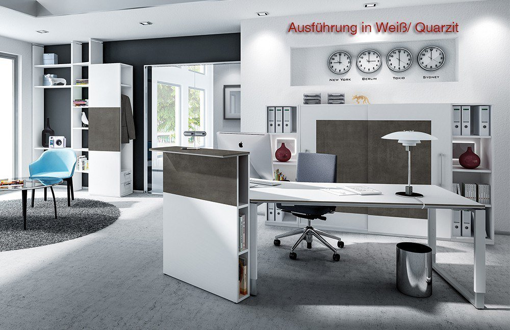 r hr schreibtisch empfangstheke m bel letz. Black Bedroom Furniture Sets. Home Design Ideas