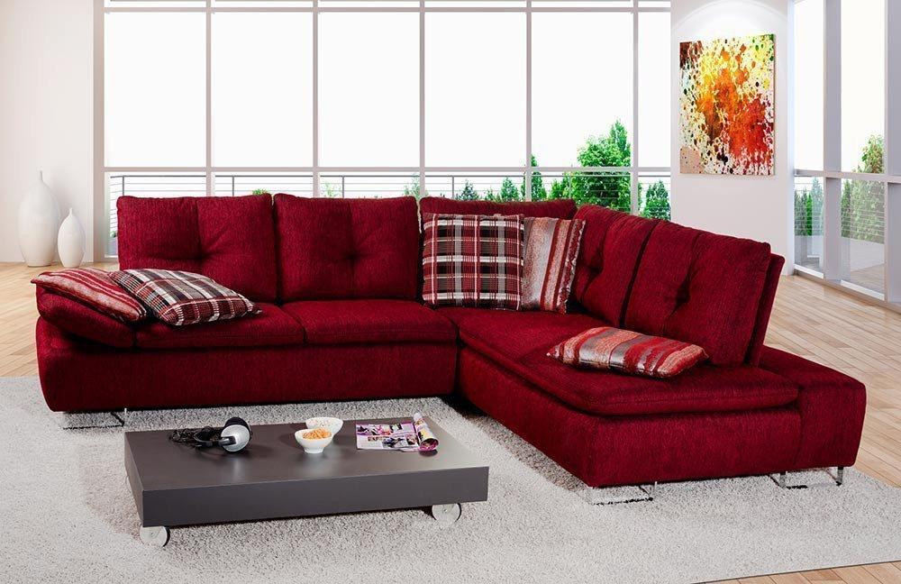 Pm Oelsa Avus Polstergarnitur Rot Möbel Letz Ihr Online Shop