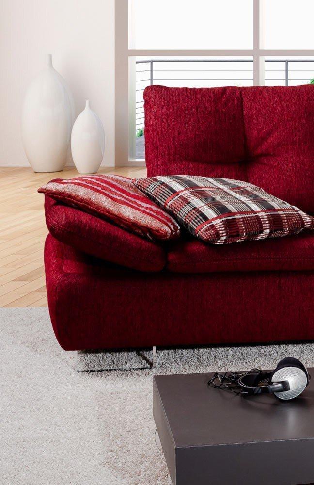 pm oelsa avus polstergarnitur rot m bel letz ihr online shop. Black Bedroom Furniture Sets. Home Design Ideas