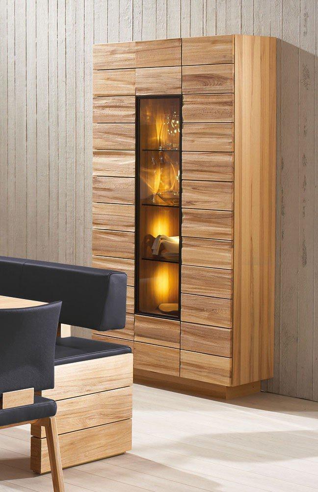 esszimmer v montana wildeiche ge lt leder oceano von voglauer m bel letz ihr online shop. Black Bedroom Furniture Sets. Home Design Ideas