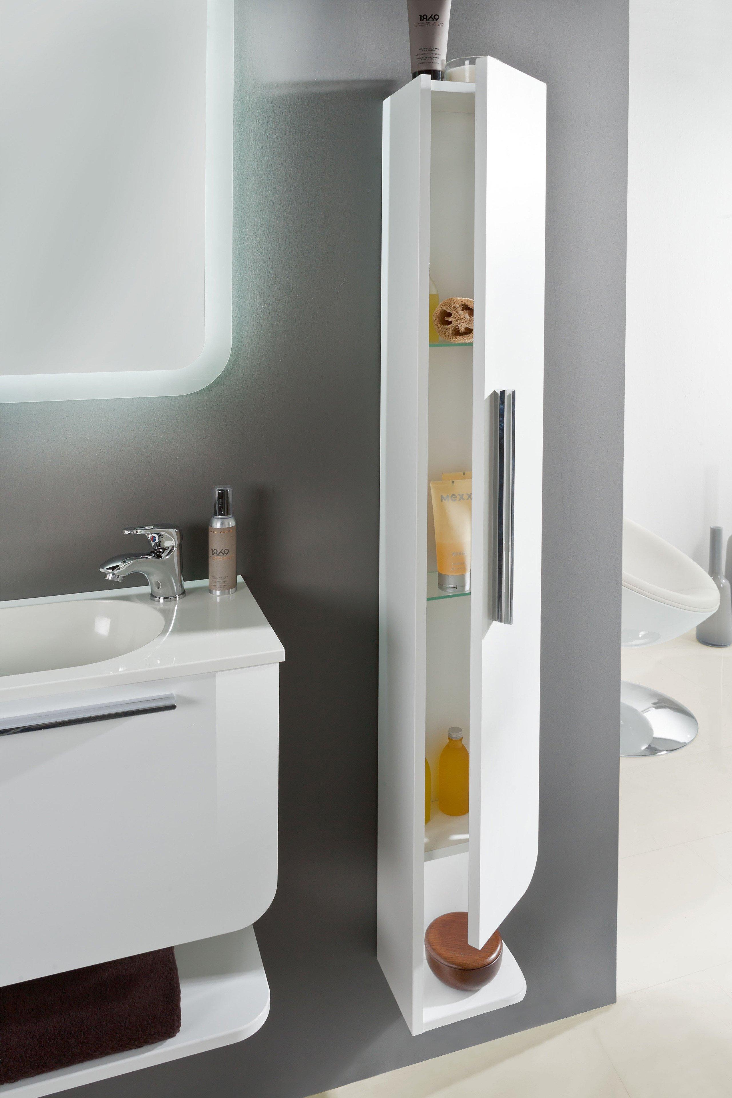 marlin badm bel 3010 1 wei glanz m bel letz ihr online shop. Black Bedroom Furniture Sets. Home Design Ideas