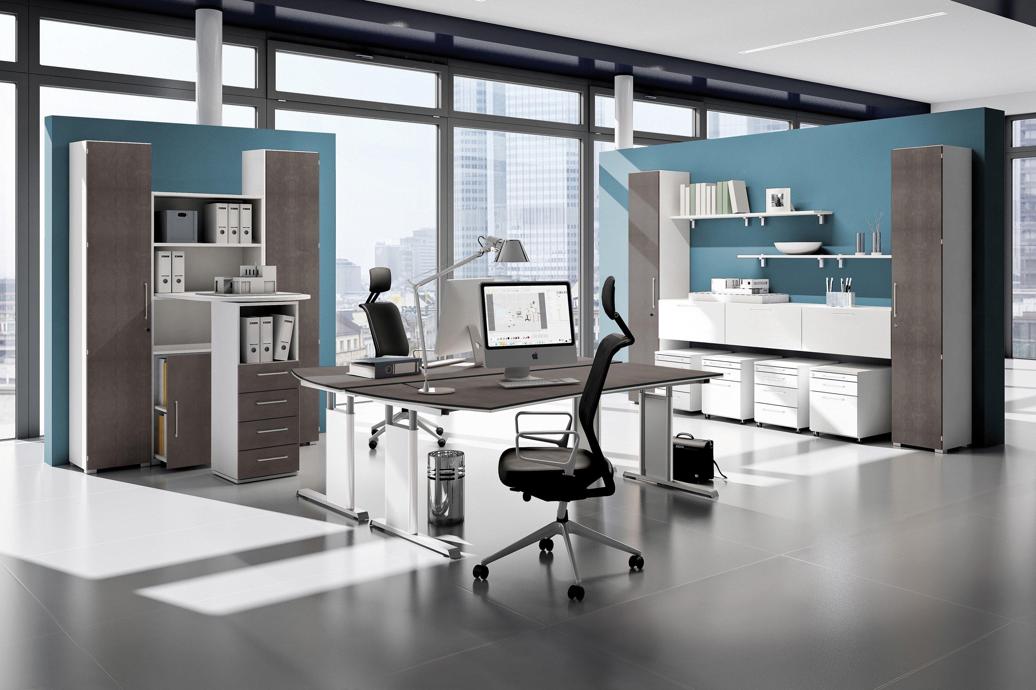 objekt.plus Schreibtisch von Röhr-Bush in Quarzit | Möbel Letz - Ihr ...