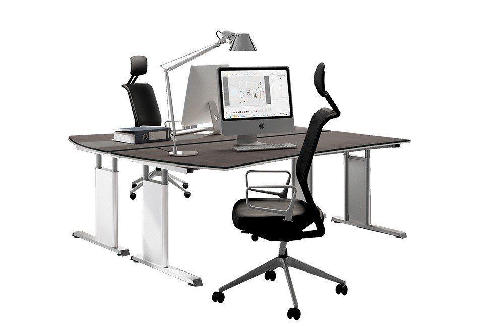 objekt.plus Schreibtisch von Röhr-Bush in Quarzit   Möbel Letz - Ihr ...