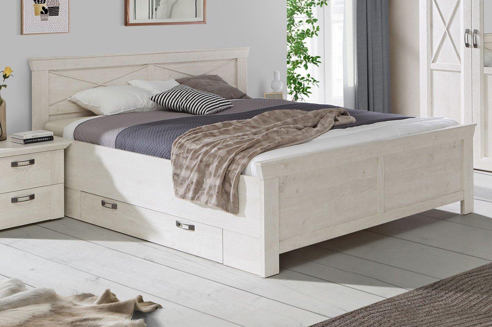 forte kashmir schlafzimmer wei pinia m bel letz ihr online shop. Black Bedroom Furniture Sets. Home Design Ideas