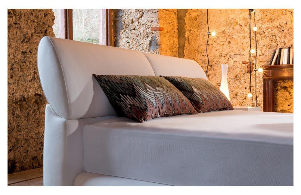 ruf primero boxspringbett im wei en kunstleder m bel letz ihr online shop. Black Bedroom Furniture Sets. Home Design Ideas