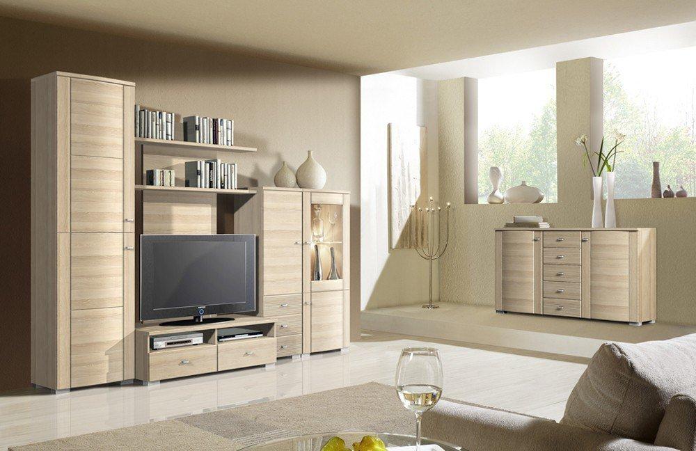 Linea home wohnwand interessante ideen f r for Wohnwand reduziert