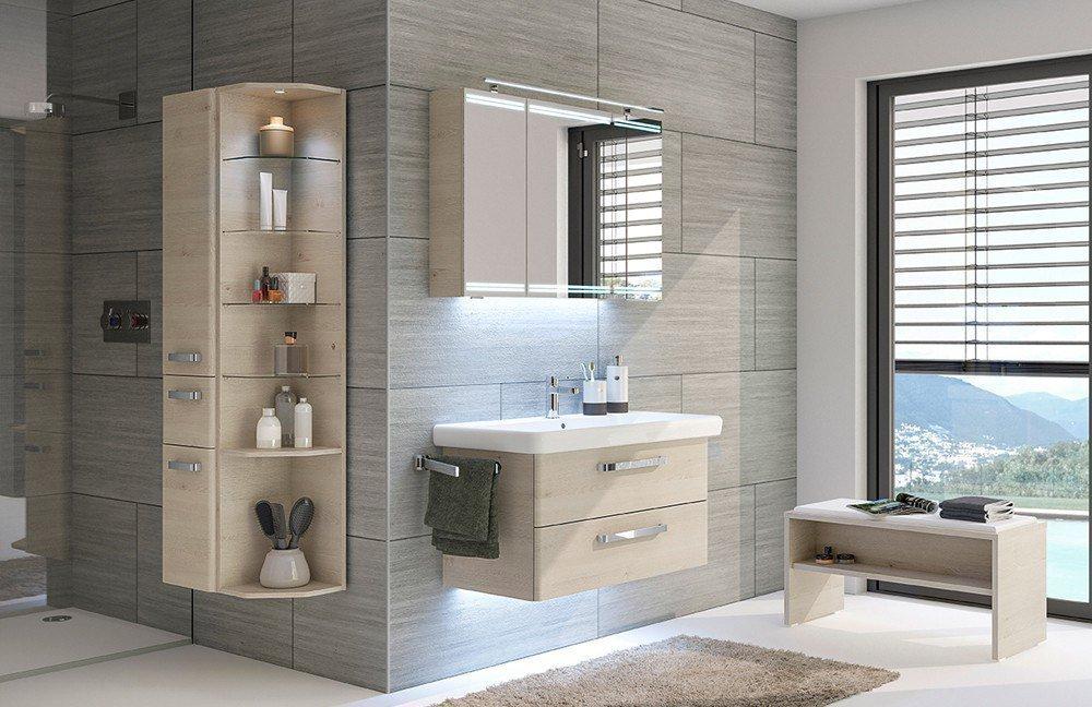 Pelipal Badezimmer Pineo Mit Spiegelschrank Mobel Letz Ihr
